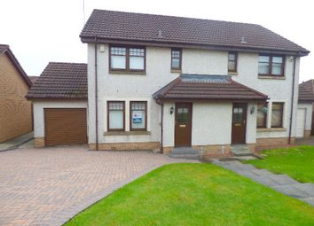 Thumbnail 3 bed semi-detached house to rent in Glen Sannox Way, Cumbernauld, North Lanarkshire