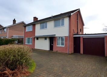 Thumbnail 4 bed detached house for sale in Hether Drive, Carlisle, Cumbria