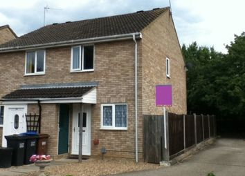 Thumbnail 2 bedroom semi-detached house to rent in Lords Wood, Panshanger, Welwyn Garden City