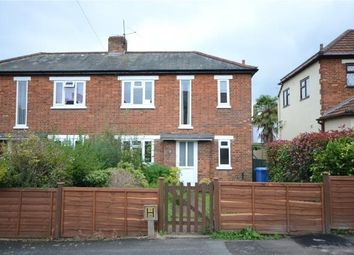 Thumbnail 3 bed semi-detached house for sale in Connaught Road, Aldershot, Hampshire