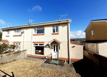 Thumbnail 3 bed semi-detached house for sale in Llwynderi, Aberdare, Rhondda Cynon Taff