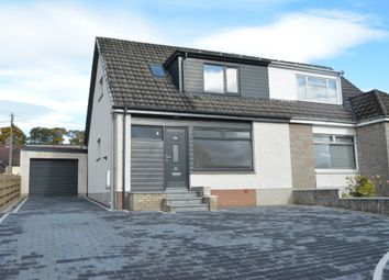 Thumbnail 3 bed semi-detached house for sale in Edward Avenue, Stenhousemuir, Falkirk
