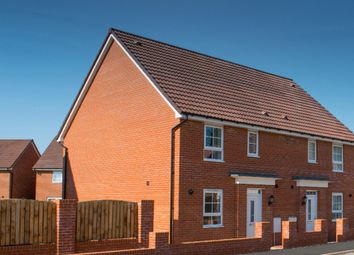 """Thumbnail 3 bed semi-detached house for sale in """"Barwick"""" at Tenth Avenue, Morpeth"""