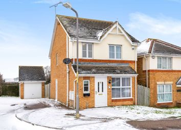 Thumbnail 3 bed detached house for sale in Longmeade, Gravesend