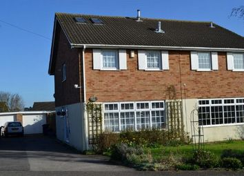 Thumbnail 4 bed semi-detached house for sale in Goodwood Avenue, Parklands, Northampton