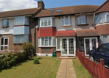 Thumbnail 4 bed terraced house to rent in Hillcross Avenue, Morden, Surrey
