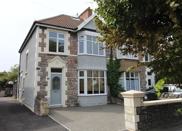 Clarendon Road, Weston-Super-Mare BS23. 4 bed semi-detached house for sale
