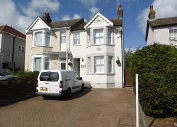 Thumbnail 3 bed semi-detached house for sale in Rayleigh Road, Hadleigh, Benfleet