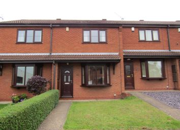 Thumbnail 2 bed terraced house for sale in Warren Close, Gainsborough