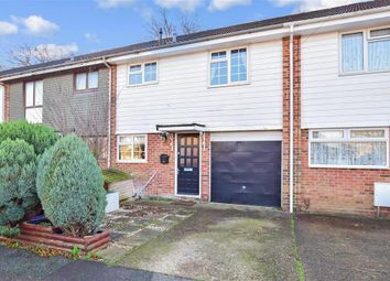 Thumbnail 3 bed terraced house for sale in Fairfax Close, Parkwood, Gillingham, Kent