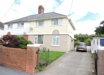 Thumbnail 3 bedroom semi-detached house for sale in Heol Y Cae, Pontarddulais, Swansea