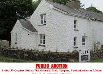 Thumbnail 2 bed detached house for sale in Tyrhibin Ganol, Newport, Pembrokeshire