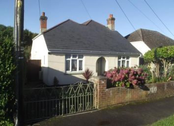 Thumbnail 3 bed bungalow for sale in Coates Road, Southampton