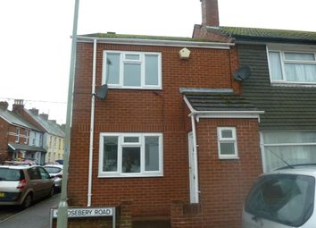 Thumbnail 2 bedroom terraced house to rent in Rosebery Road, Exmouth