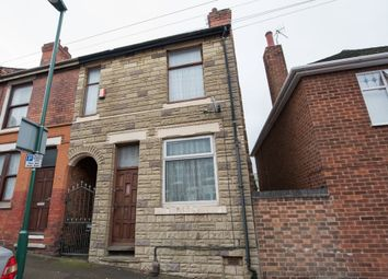 Thumbnail 3 bed end terrace house for sale in St. Cuthberts Road, Nottingham