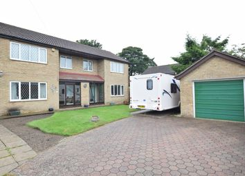 Thumbnail 4 bed detached house for sale in Highgrove, Messingham, Scunthorpe