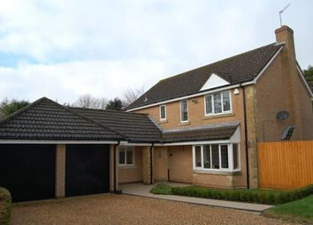 Thumbnail 4 bed detached house for sale in Jeyes Close, Moulton, Northampton