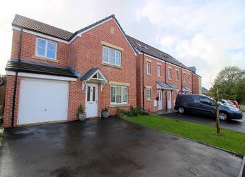Thumbnail 4 bed detached house for sale in Ffordd Cadfan, Brackla, Bridgend.