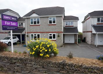 Thumbnail 4 bed detached house for sale in Harding Meadow, Looe