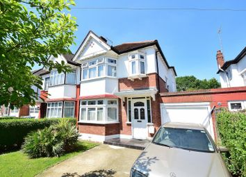 Thumbnail 3 bed semi-detached house for sale in Norval Road, Wembley, Middlesex