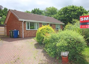 Thumbnail 2 bed detached bungalow for sale in 55 Cringlebrook, Belgrave, Tamworth, Staffordshire