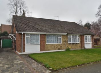 Thumbnail 2 bed semi-detached bungalow to rent in The Glebe, Watford