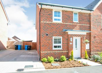 Thumbnail 3 bedroom semi-detached house for sale in Becket Crescent, Bearwood, Bournemouth