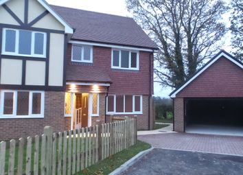 Thumbnail 4 bed detached house for sale in Paddock View, Lower Horsebridge, Hailsham