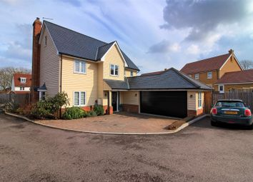 Thumbnail 5 bed detached house for sale in Deacons Place, Buntingford