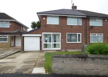 Thumbnail 3 bed semi-detached house for sale in Tonbridge Drive, Aintree Village, Aintree, Liverpool