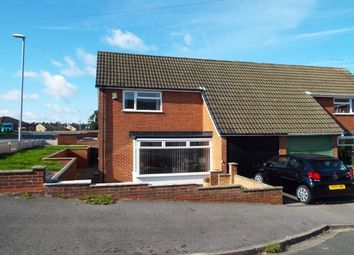 Thumbnail 2 bed semi-detached house to rent in Marie Gardens, Hucknall