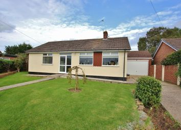 Thumbnail 3 bed detached bungalow for sale in Stonebank Drive, Little Neston, Cheshire