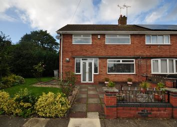 Thumbnail 4 bed semi-detached house for sale in Beaumaris Drive, Heswall, Wirral