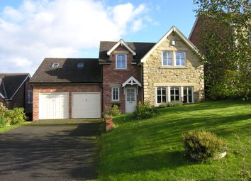 Thumbnail 4 bed detached house for sale in Lordenshaw Drive, Rothbury, Morpeth