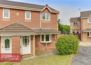 Thumbnail 3 bed semi-detached house for sale in Higher Close, Connah's Quay, Deeside