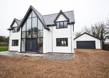 Thumbnail 4 bed detached house for sale in Olmstead Green, Castle Camps, Cambridge