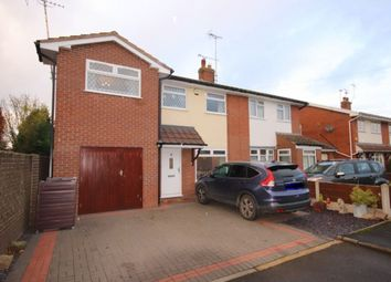 Thumbnail 4 bed semi-detached house for sale in Wessex Close, Shavington, Crewe