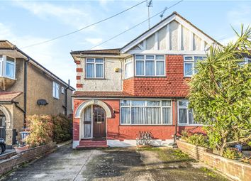 Thumbnail 3 bed end terrace house for sale in Castle Road, Northolt, Middlesex