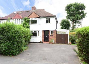 Thumbnail 3 bed semi-detached house for sale in Westcar Lane, Hersham, Walton-On-Thames