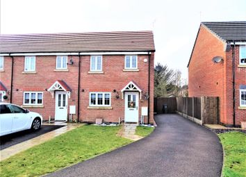 Thumbnail 3 bed semi-detached house for sale in Marston Drive, Markfield