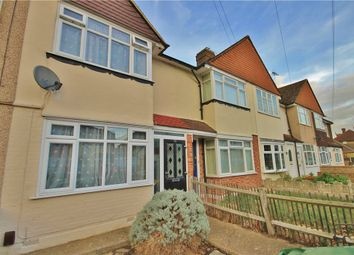Thumbnail 2 bedroom terraced house to rent in Ashford Avenue, Ashford, Surrey