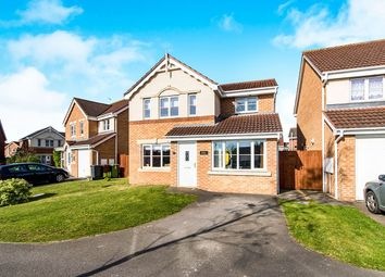 Thumbnail 3 bed detached house for sale in Anglesey Close, Lincoln