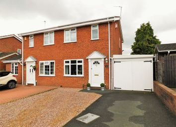 Thumbnail 2 bed semi-detached house for sale in Torridge Drive, Western Downs, Stafford