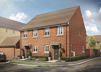 Thumbnail 2 bedroom semi-detached house for sale in Oakbrook San Andres Drive, Newton Leys, Bletchley, Milton Keynes