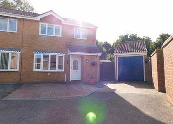 Thumbnail 3 bed semi-detached house for sale in Spencer Way, Stowmarket