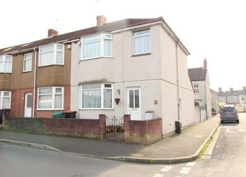 Thumbnail 3 bed end terrace house for sale in Elysia Street, Newport