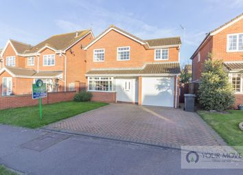 Thumbnail 4 bedroom detached house for sale in Wharfedale, Carlton Colville, Lowestoft
