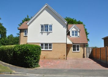 Thumbnail 4 bed detached house for sale in Notcutts, East Bergholt, Colchester