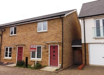Thumbnail 2 bedroom end terrace house to rent in Beaton Crescent, Huntingdon