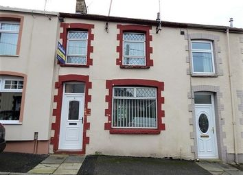 Thumbnail 3 bed terraced house for sale in Adam Street, Abertillery